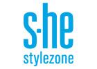 logo značky s-he kosmetických přípravků