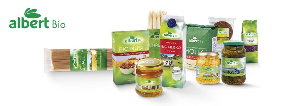 potraviny značky albert Bio