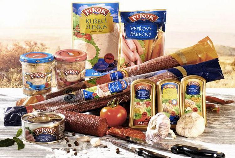 masné výrobky privátní značky Pikok