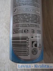 obal se složením a výrobcem gelu na holení Cien