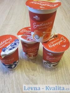 obaly smetanových jogurtů albert Quality