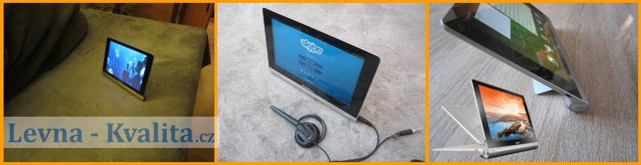 univerzální použití tabletu Lenovo Yoga