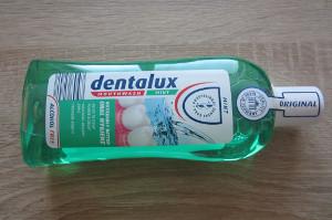 balení ústní vody dentalux mint