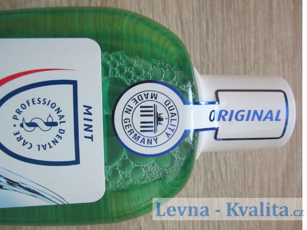 výrobce ústní vody dentalux mint