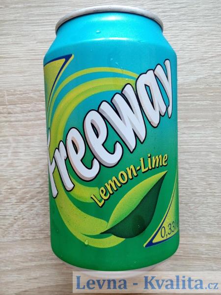 plechovka Freeway citronovo-limetkové šťávy