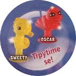 Stikeez postavičky Sweety a Oscar se třpytí