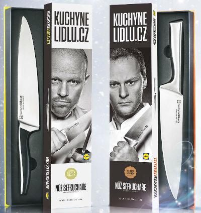 Získete za nákupy v Lidlu nůž šéfkuchaře