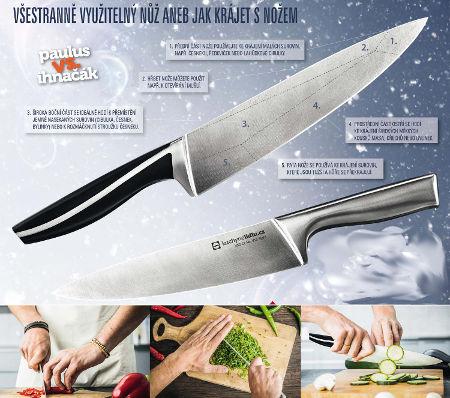 Vzhled nože z Lidlu