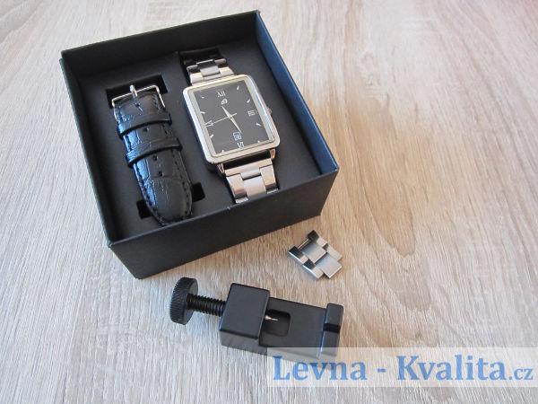 sada hodinek auriol - výměnné řemínky a přípravek na zkrácení řemínku