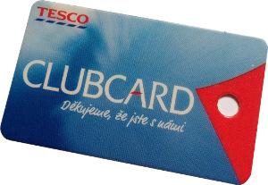 rodinná karta Tesco Clubcard