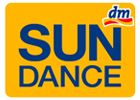 logo značky opalovacích krémů sundance z dm drogérie