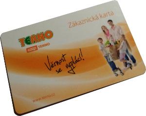 Terno Coop - vzhled zákaznické karty
