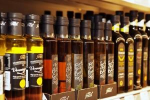 oleje a jiné výrobky značky tesco Finest