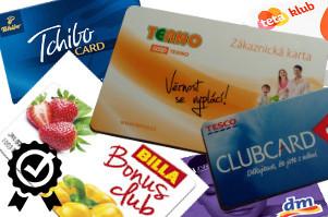 věrnostní zákaznické karty tesco clubcard, teta klub, billa bonus club