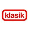 červené logo značky klasik z coopu