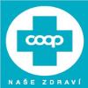 modré logo značky naše zdraví z coopu
