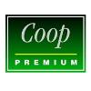 zelené logo značky Coop premium