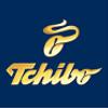 modro zlaté logo výrobce kávy a spotřebního zboží Tchibo