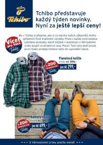 košile a kalhoty v katalogu Tchibo