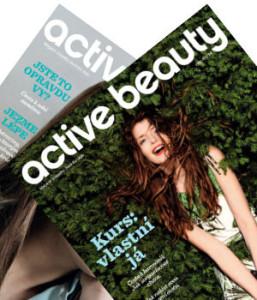 obálka magazínu active beauty pro členy klubu dm drogerie