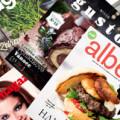 hlavní strany všech magazínů obchodních řetězců
