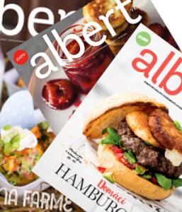 hlavní strana magazínu albert