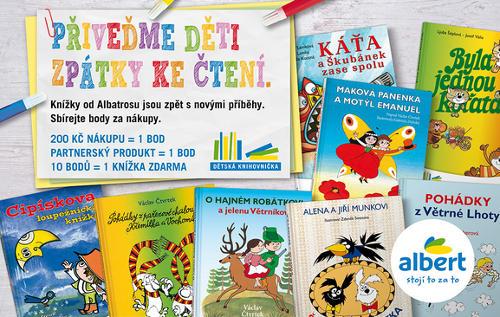další knížky pro děti z Alberta