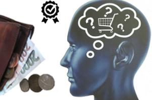 správné nákupní rozhodování - úspora peněz v peněžence