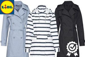 kabáty a další oblečení z Lidlu