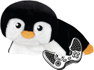 plyšový tučňák chluptuber tuca