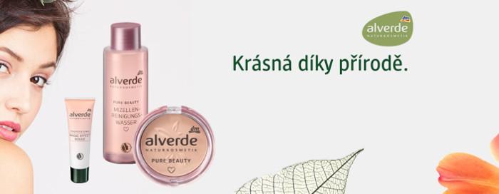 kosmetické výrobky značky Alverde