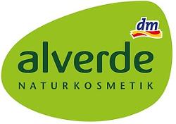 zelené logo značky Alverde z DM drogérie
