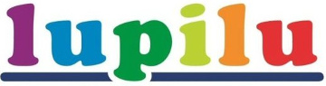 barevné logo značka Lupilu