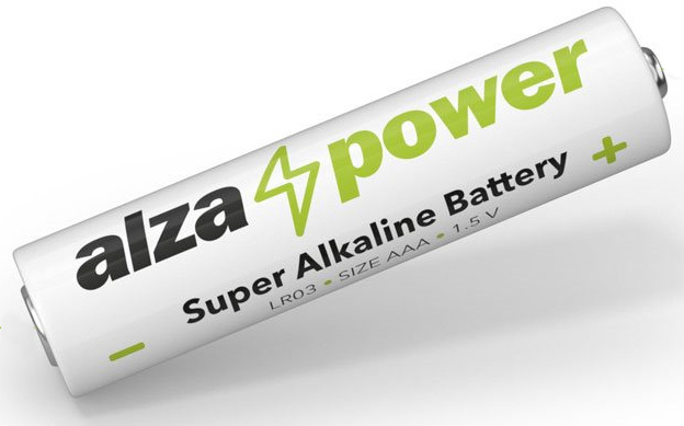 Alkalická baterie značky AlzaPower