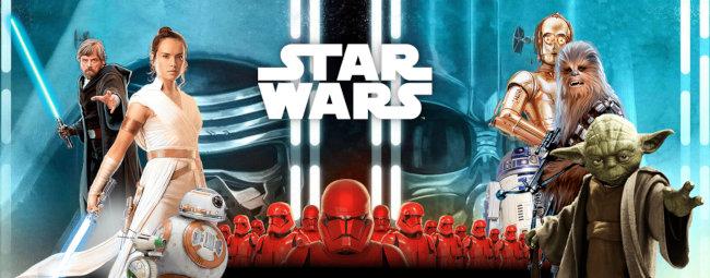 Hlavní postavy z filmové série Star Wars - hlavní foto věrnostní akce v Kauflandu