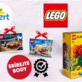 Balení LEGO a minilego - logo Albert - úvodní obrázek článku Získejte extra výhodné balení stavebnice Lego v Albertu