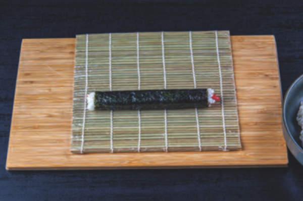 srolovaná sushi rýže do mořské řasy - dle receptu